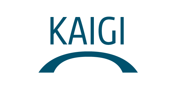 Kaigi identity - Tracey Grady Design