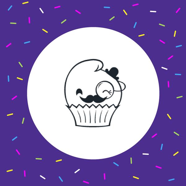 Cupcake logo concept - Tracey Grady Design